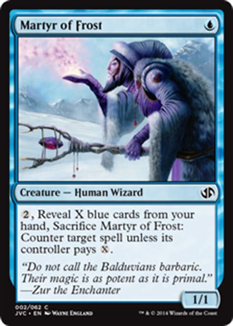 Martyr of Frost   Creature   Cards   MTG Salvation