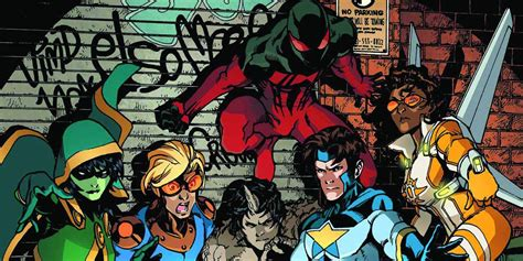 Marvel Developing New Warriors TV Series Featuring ...