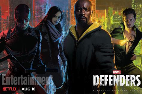 Marvel s THE DEFENDERS Gets A New Poster Ahead of Its Release