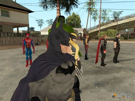 Marvel Superheroes for GTA San Andreas