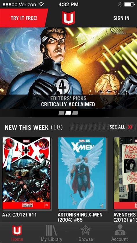 Marvel Unlimited Alternatives and Similar Apps and ...