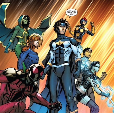 Marvel working on a New Warriors TV series featuring ...