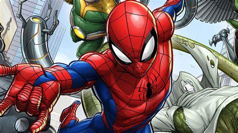 Marvel's Spider Man Animated Series Reveals New Promo Art ...