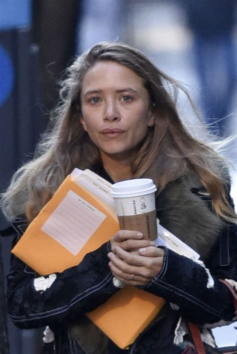 Mary Kate Olsen out and about in NYC
