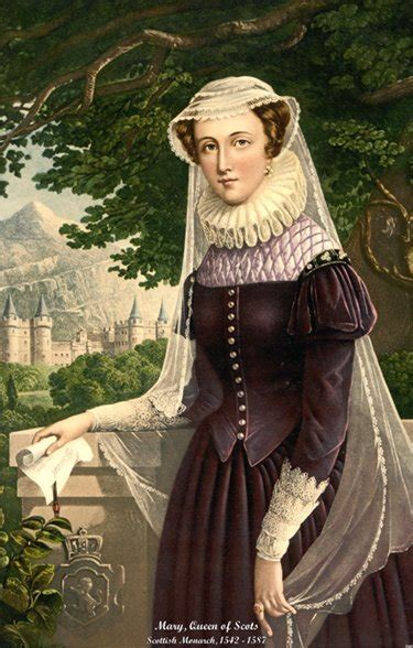 Mary, Queen of Scots. Biografía. Famous people in English ...