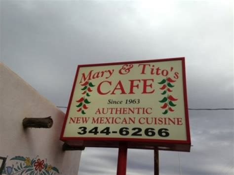 Mary s & Tito s Cafe   2711 4th St NW Albuquerque, NM ...