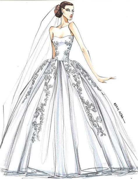 Más de 1000 ideas sobre Bocetos De Vestidos De Novia en ...