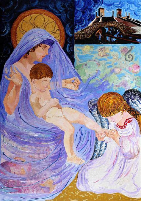 Más de 1000 imágenes sobre Virgen María: María y el Niño ...