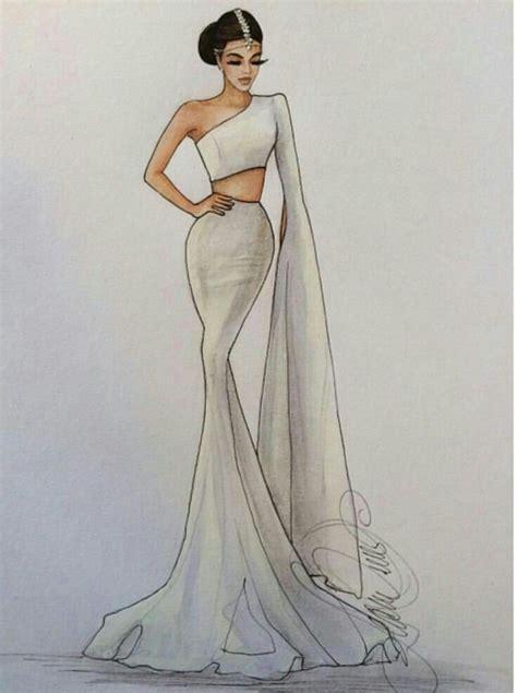 Más de 25 ideas increíbles sobre Bocetos de diseño de moda ...