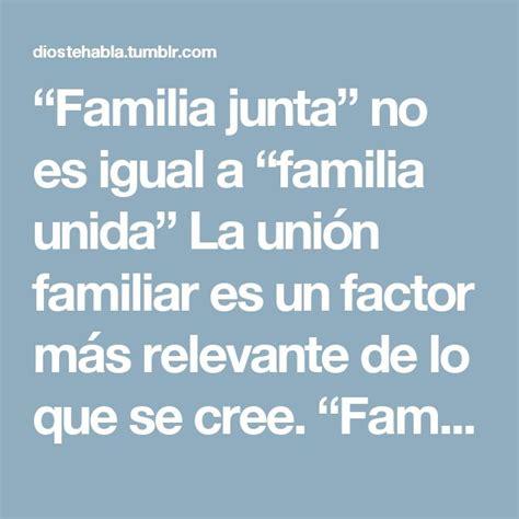 Más de 25 ideas increíbles sobre Frases sobre familia ...