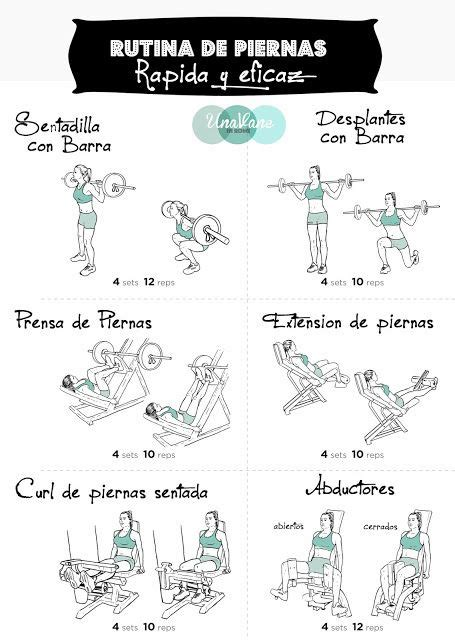 Más de 25 ideas increíbles sobre Gym rutinas en Pinterest ...
