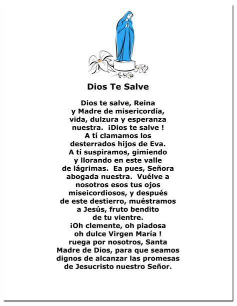 Más de 25 ideas increíbles sobre Oracion Dios Te Salve en ...
