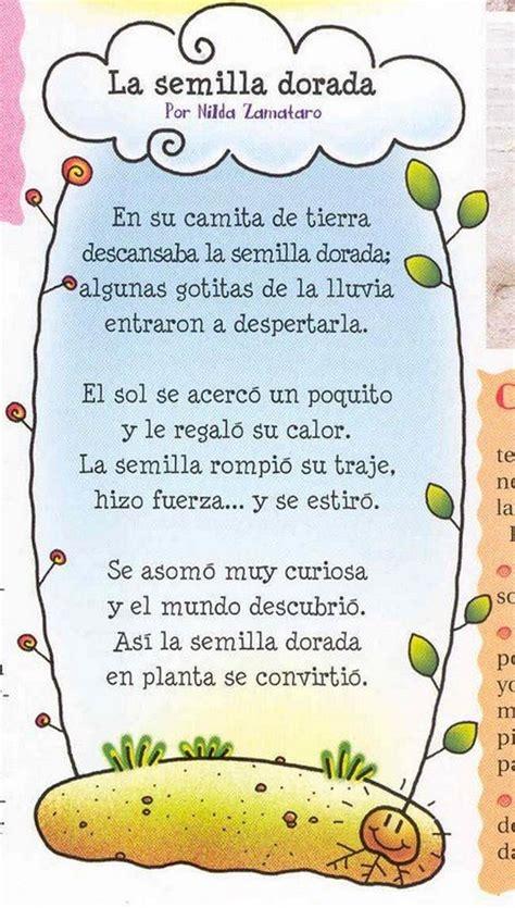 Más de 25 ideas increíbles sobre Poemas Infantiles en ...