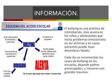 Más información sobre el Bullying | Informacionde.info