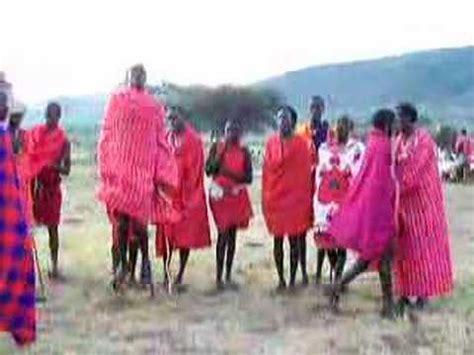 Masai tribe dances   YouTube