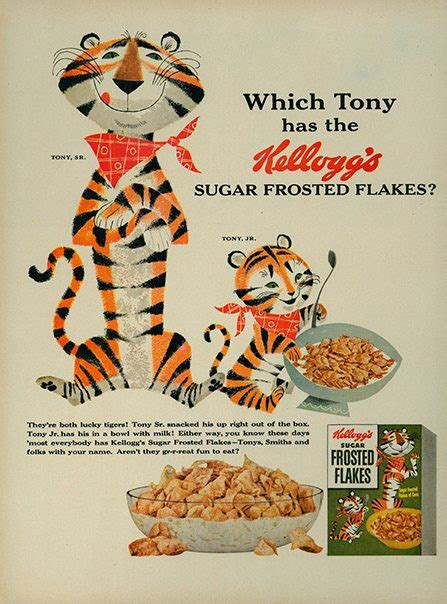 Mascot Design Evolution: Tony the Tiger > 360 | Article ...