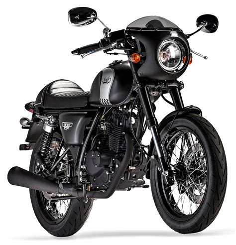 Mash 125 Cafe Racer 2018   Fiche moto   MOTOPLANETE