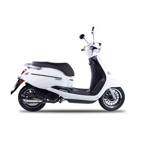 MASH CITY 125cc E4 BLANC - Mash Motors