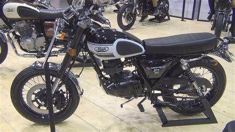 Mash Seventy Five 125 cc Euro 4 Black (2017) Exterior and ...