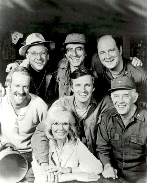 MASH TV SHOW CAST BW 8X10 GLOSSY PHOTO | eBay