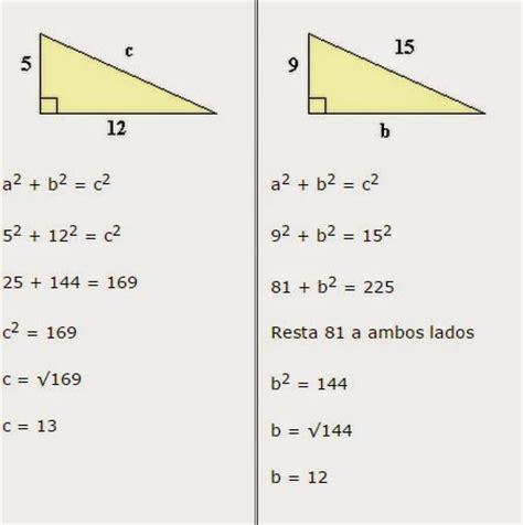 Matemáticas y Teoremas: Teorema de Pitágoras