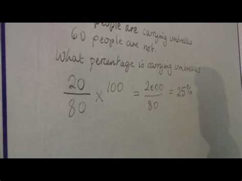 Math Calculations & Conversions : Finding a Percentage of ...