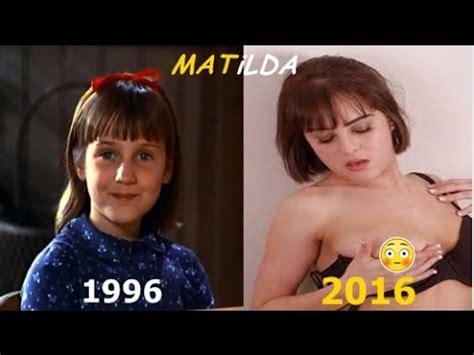MATILDA ANTES Y DESPUES ACTORES   2016   YouTube