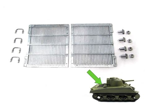 Mato 1/16 Metal Engine Grills for Heng Long 3898 M4A3 ...