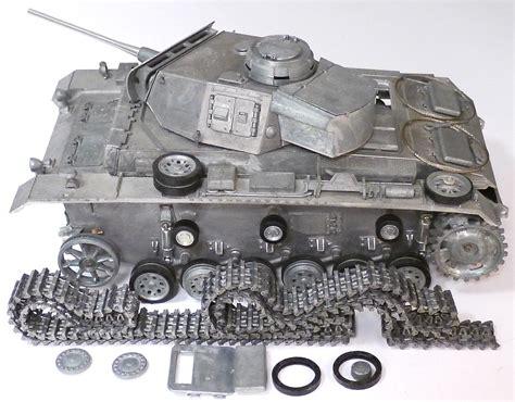 Mato Toys Metal Battle Tank Panzer, 1:16 scale metal ...