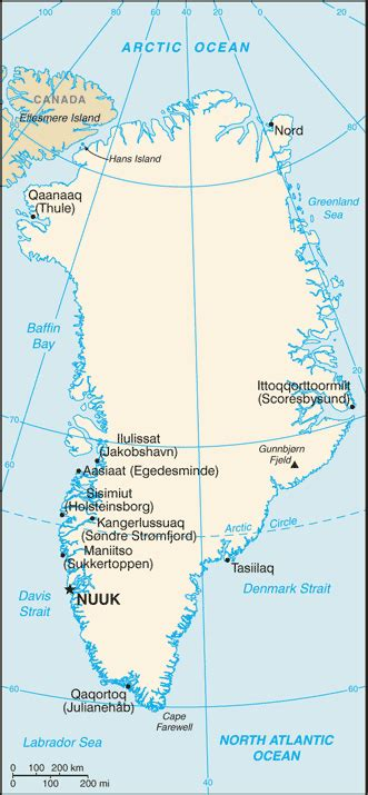 Matrículas de Groenlandia