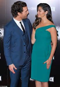 Matthew McConaughey and wife Camila Alves attend ...