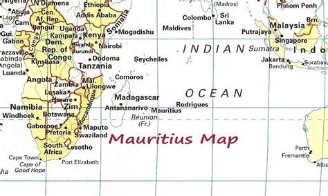 Mauricio Karte Städte