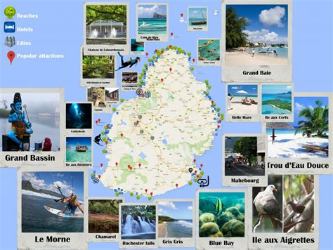 Mauritius Map | Road Map | PDF | Indian Ocean