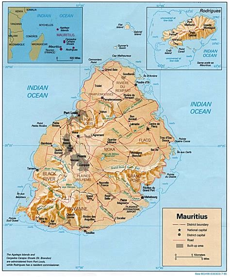Mauritius Maps - Perry-Castañeda Map Collection - UT ...