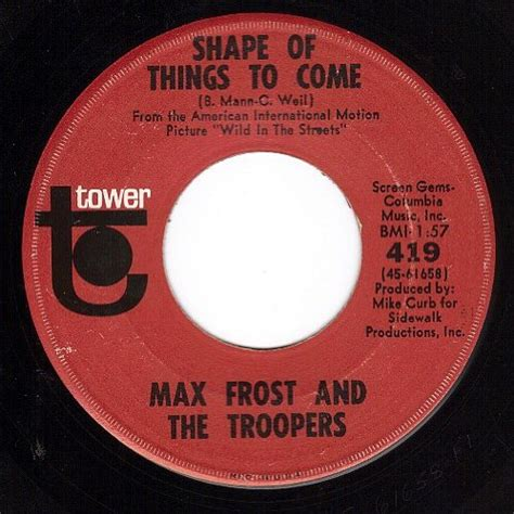 Max frost CD Covers