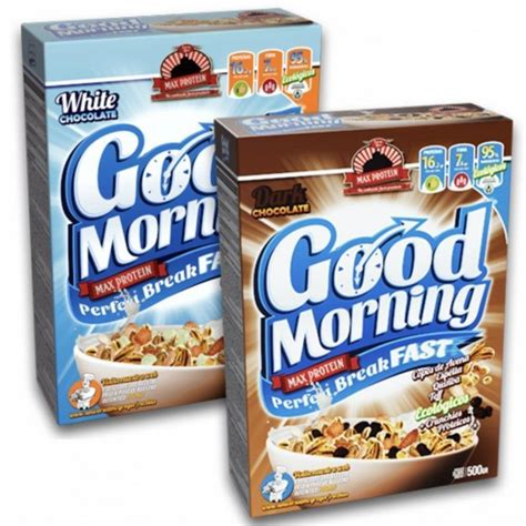 Max Protein Good Morning Cereales