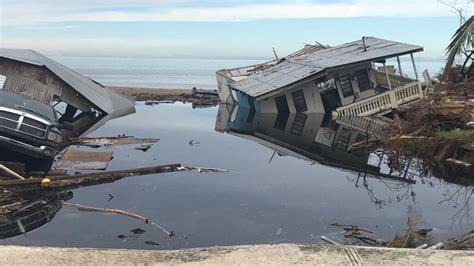 Mayagüez (Puerto Rico) después del paso del huracán María ...