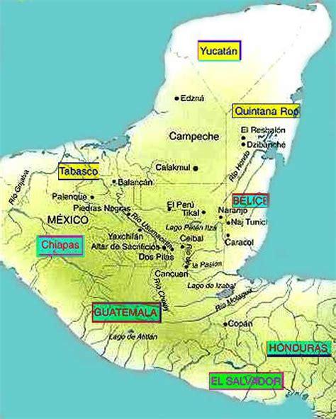 Mayas: Ubicación geográfica | SocialHizo
