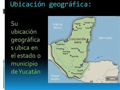 Mayas Ubicacion