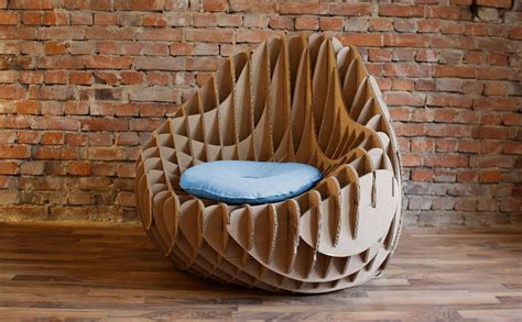 MC 205: Recycled cardboard armchair by Nordwerk Design