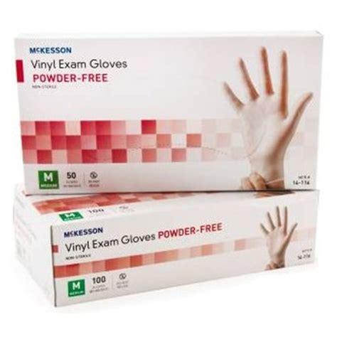 McKesson Powder Free Vinyl Exam Gloves at HealthyKin.com
