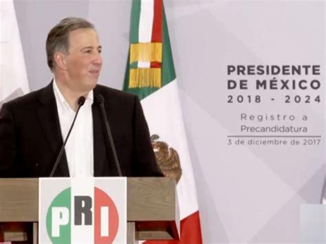 Meade, precandidato único del PRI a la presidencia – El ...