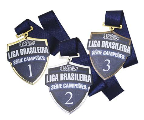 Medalha exclusiva League of Legends - Liga Brasileira ...