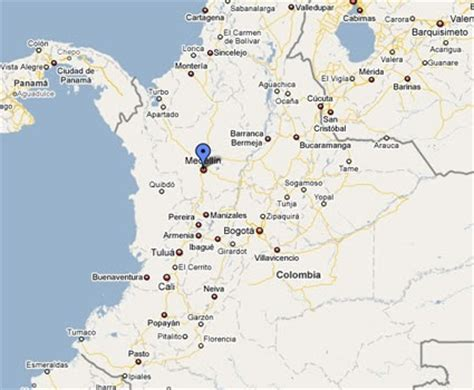 MEDELLIN: ubicacion
