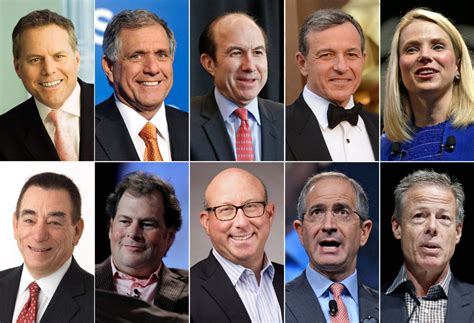 Media execs top list of highest paid CEOs in U.S ...
