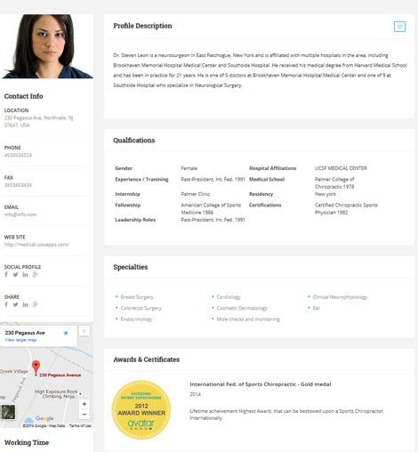 Medical Directory: Hospitals & Doctors Listing Theme for ...