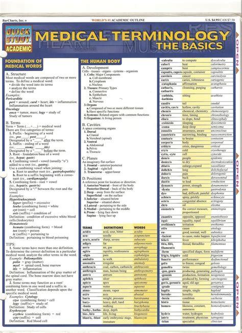 Medical Terminology Page 1 | .medical billing | Pinterest ...