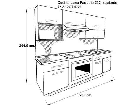 Medidas Estandar De Muebles De Cocina ~ Idea Creativa ...