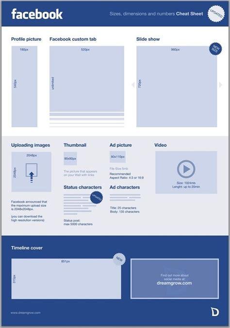medidas facebook 2 | Illustration | Pinterest | Facebook y ...