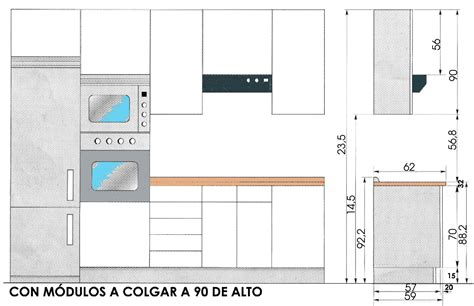 medidas muebles de cocina   Buscar con Google | salas ...